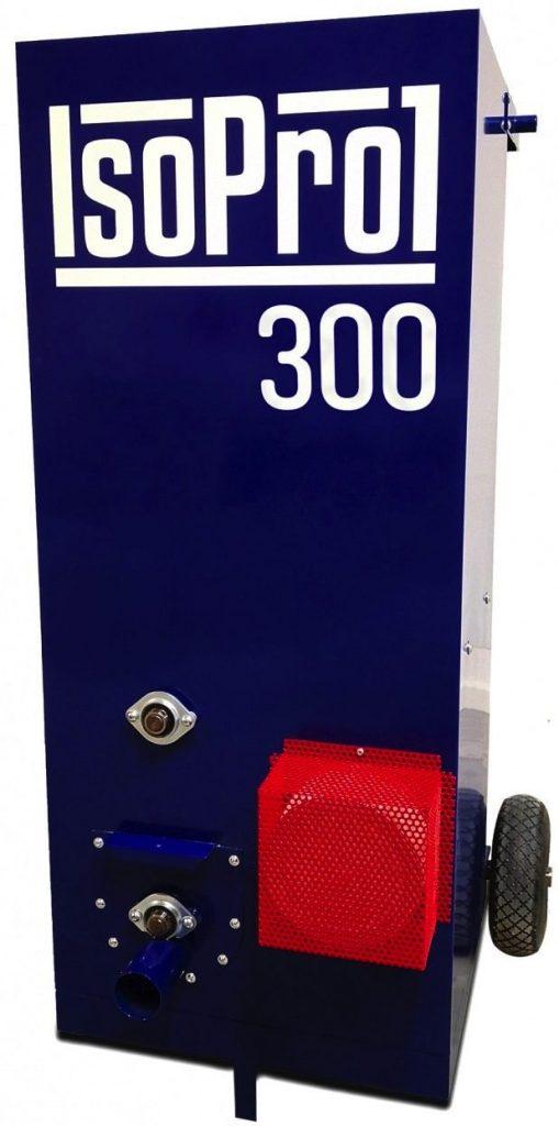 Pigiausia birios siltinimo izoliacijos putimo masina Isolerings Maskinen IsoPro 300
